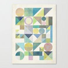 Nordic Combination 21 Canvas Print