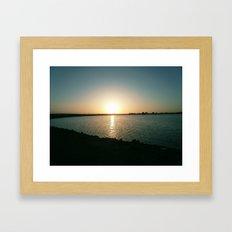 By the Bay Framed Art Print