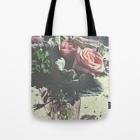 Euphoric Flowers  Tote Bag