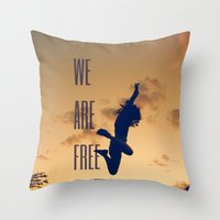FREE (with Text) Throw Pillow