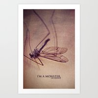 I'm.a.Monster. Art Print