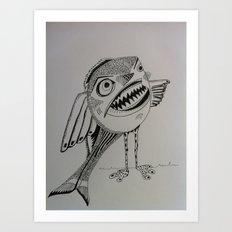 Piranâbird Art Print