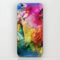 Geisha Rose iPhone & iPod Skin