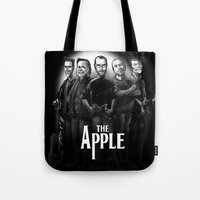 The Apple Band Tote Bag