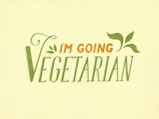 I'm Going Vegetarian Canvas Print