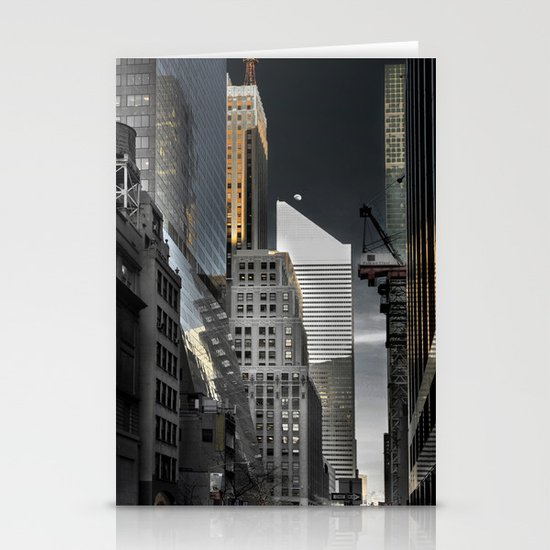 New york / Buildings Stationery Card