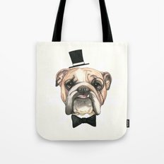 English Bulldog - livin' la vida bulldog Tote Bag