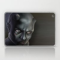 Demonoid Girl Portrait Laptop & iPad Skin