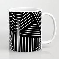 Ab Linear Oom Black Mug