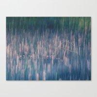 A Little Rain Canvas Print