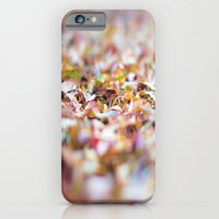 iPhone & iPod Case featuring Summer Leaves Abstract by Maite Pons