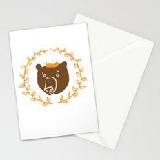 King of the Bears Stationery Cards