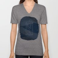 All Of Time And Space Unisex V-Neck