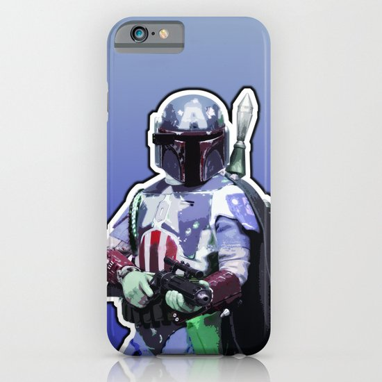 Captain Fett iPhone & iPod Case