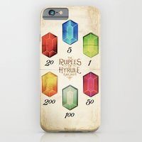 iPhone & iPod Case featuring Legend of Zelda - Tingle's The Rupees of Hyrule Kingdom by Barrett Biggers