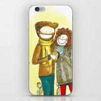 Coffee + Love iPhone & iPod Skin
