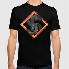S6:  Society6 Universe SMALL Mens Fitted Tee Black