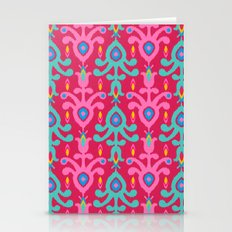 Colorful Bohemian Ikat  Stationery Cards