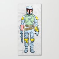 My Favorite Toy - Boba Fett Canvas Print