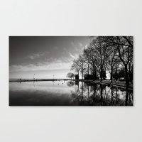 Balaton - reflection Canvas Print