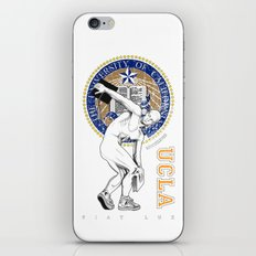 UCLA ...let there be light iPhone & iPod Skin