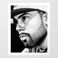 Cody B. Ware In Ink Art Print