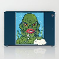 The Sultry Lagoon iPad Case