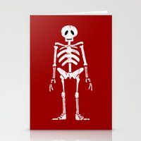 Skeleton Stationery Cards