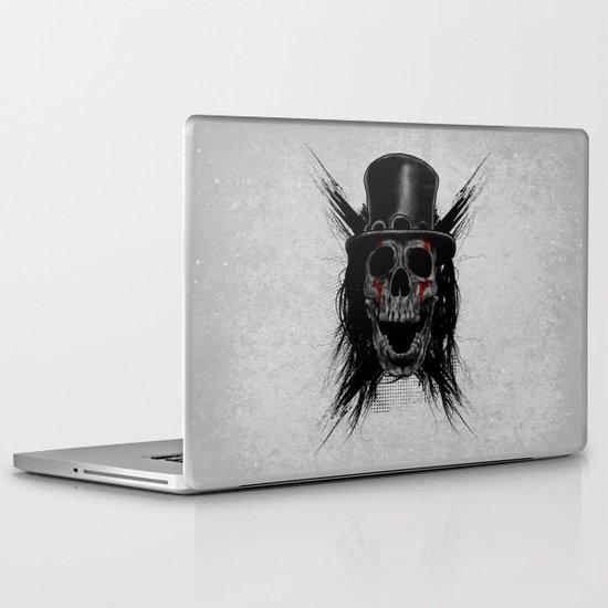 Skull Hat Laptop & iPad Skin