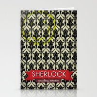 Sherlock Poster 1 Stationery Cards