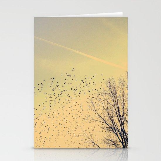 Fly Stationery Card