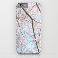 Vintage pink tree iPhone 6 Slim Case