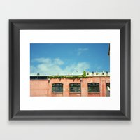 All Covered In Vines Framed Art Print