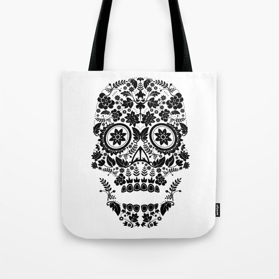 Day of the Dead Skull No.13 Tote Bag