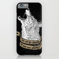 iPhone & iPod Case featuring Wolf Protector by pakowacz