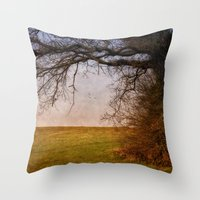 Edgefield to Hunworth Scenic Route Throw Pillow
