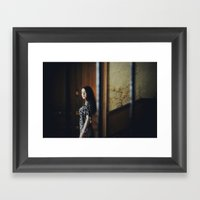 In passing Framed Art Print