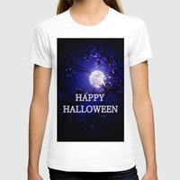 halloween T-shirts featuring HALLOWEEN by WhimsyRomance&Fun