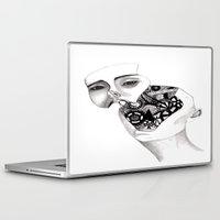 robot Laptop & iPad Skins featuring Robot by kaylinicole