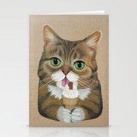 Lil Bub - Famous Cat Stationery Cards