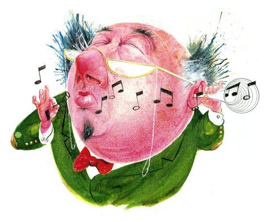 The Music Critic Art Print
