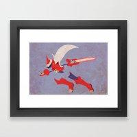 Protoman EXE Framed Art Print