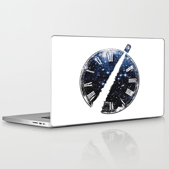 Journey through space and time Laptop & iPad Skin