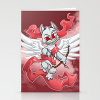 Cupid Evil Stationery Cards