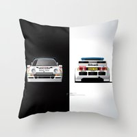 Group B Edition, N.º4, Ford RS200 Throw Pillow