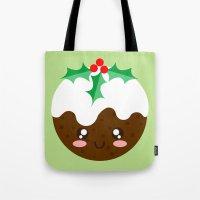 Christmas Pudding Tote Bag