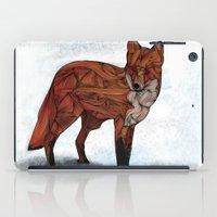 Red Fox iPad Case