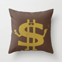 High Class Lifestyle Throw Pillow