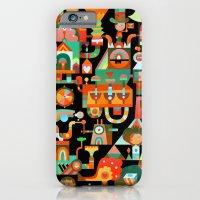 iPhone & iPod Case featuring The Chipper Widget (Remix) by C86   Matt Lyon
