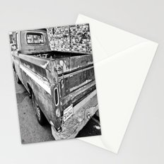 Nearing The End of the Road (B&W) Stationery Cards